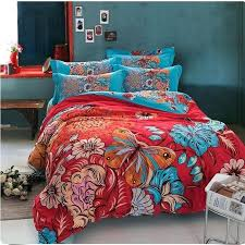 boho comforter set bedding colorful bedding set bohemian duvet covers pertaining to king comforter set plan