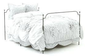 ruffle comforter twin white ruffle bedding image of ruffle bedding white ruffle bedding gray ruffle twin ruffle comforter