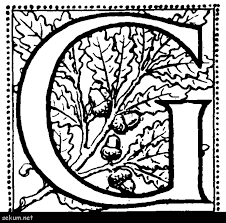 Illuminated Letters Coloring Pages Free Illuminated Letters Alphabet