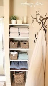 installing built in bathroom shelves tree wall decor