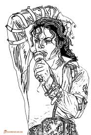 Small Picture Michael Jackson Coloring Pages Throughout itgodme