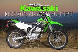 kawasaki klx250 dual sport full test