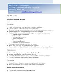 property manager job description resume riez sample resumes 11 property manager job description resume riez sample resumes
