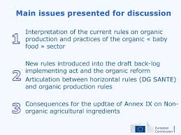 Committee Organic Production Ppt Download