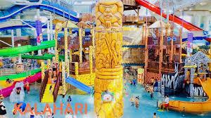 wisconsin dells kalahari indoor water park theme park