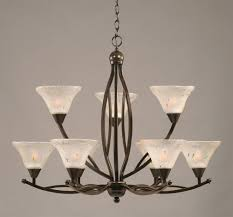 mesmerizing shades for chandeliers light bulbs and iron with a conical shape to the top