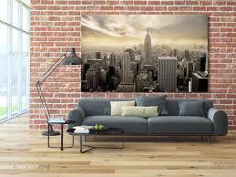 New York City Wallpaper For Bedroom Wall Murals Posters New York Sunset Mcc1167en Artpainting4youeu
