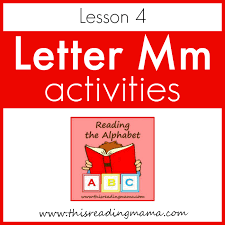 The nato phonetic alphabet, a.k.a. Reading The Alphabet Letter M Lesson 4 This Reading Mama