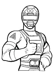 Samurai Coloring Pages Lone Ranger Coloring Pages Power Rangers