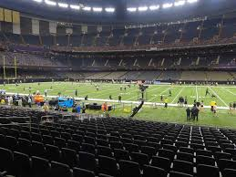 Mercedes Benz Superdome View From Plaza Level 140 Vivid Seats