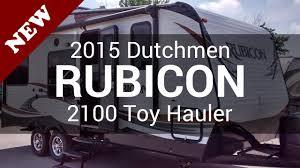 2016 rubicon 2100 toy hauler