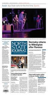North State Journal Vol 3 Issue 35 By North State Journal