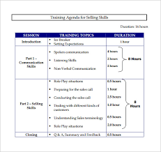 Sales Training Template 9 Sales Training Proposal Examples Pdf Word Examples