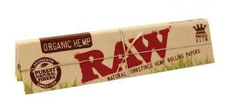 <b>Бумажки RAW</b> Organic <b>King Size Slim</b> :: BongGO