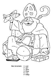 Kleurplaten Sinterklaas 4