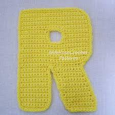 Crochet Letters Patterns Beauteous Crochet Pattern For Letter T Dancox For