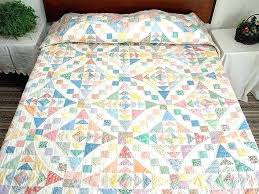 Amish Country Quilts King Pastel Faceted Jewel Quilt Amish Quilt ... & Amish Country Quilts King Pastel Faceted Jewel Quilt Amish Quilt Patterns  Trip Around The World Amish Adamdwight.com
