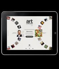 Ipad Web Design App Art Coms Ipad Application Artcircles Hot Studio