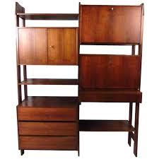 drop down desk wall unit with drop down desk for bedroom large office desks mid century drop down desk wall