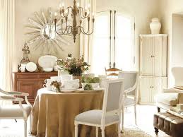 neutral french country dining room design