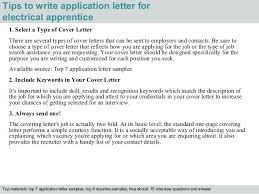 Entry Level Lineman Cover Letter Simple Application Letter Sample ...