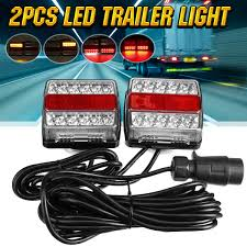 Tractor Supply Magnetic Trailer Lights 2x 12v 5 Functions 30 Led Trailer Tail Towing Light Rear