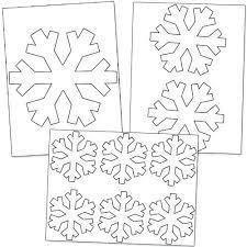 Blank Snowflake Template Blank Snowflake Template Printable Frozen Patterns Free Easy