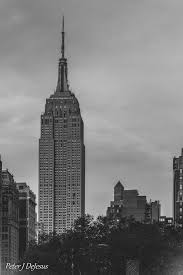 empire state building black and white. the empire state building black and white by peterjdejesus c
