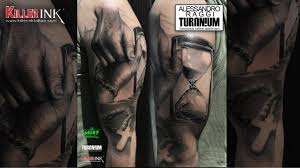 Tatuaggio Dedicato Ai Genitori In Stile Realistico Alessandro Raggi