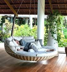 outdoor swing bed australia porch