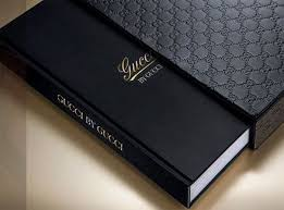 gucci book embossed