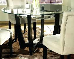 48 round table top furniture amazing aluminum round glass top dining table round glass dining table