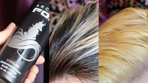 Arctic Fox Sterling Over Yellow Bleached Hair