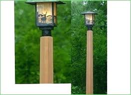 diy outdoor string light pole stand planter post lighting amazing ou outstanding