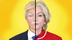 hillary clinton donald trump makeup transformation kandee johnson you
