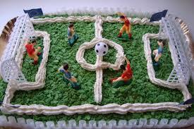 La mia amata cucina: torta campo di calcio per nico