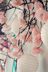 Paper Flower Branches Diy Tissue Paper Cherry Blossom Branches Icing Designs Diy