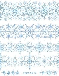 christmas snowflake border.  Snowflake Christmas Snowflake Seamless Border Patternornament BackgroundWinter  LaceNew Year Holiday Decor Throughout Border K