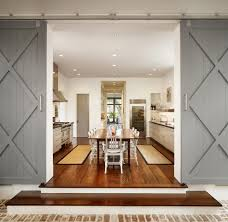 Decorating crawl space door images : Crawl space door kitchen farmhouse with rug runner stairs ...