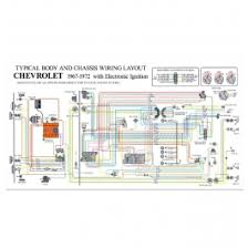 gmc truck color laminated wiring diagram 1948 Chevrolet Wiring Diagram Chevy Silverado Wiring Diagram