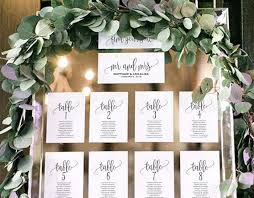 Winter Wedding Seating Chart Ideas 40 Creative And Eye Catching Wedding Seating Chart