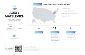 Alex J Matelevich, (570) 339-2334, 321 N Vine St, Mount Carmel, PA ...