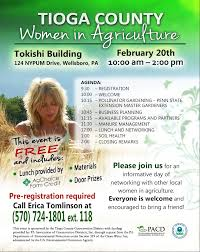 educational events sample materials org women in agriculture workshop flyer