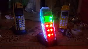 Nokia Phone With Light Up Antenna Nokia 5110 Led Modif Disco Youtube
