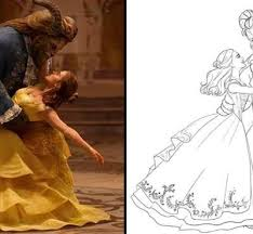 Small Picture Beauty And The Beast Coloring Pages Free Coloring Coloring Pages