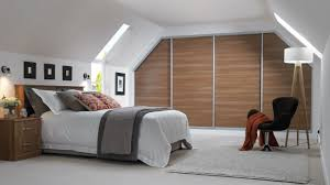 Slanted Roof Bedroom