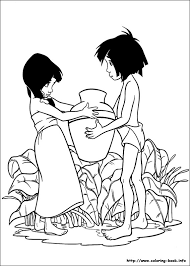 Small Picture Jungle Book coloring pages on Coloring Bookinfo