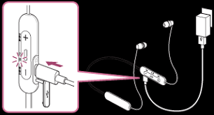 WI-C200 / WI-C310   Help Guide   Charging the <b>headset</b>