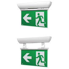 cooper lighting velos emergency exit sign