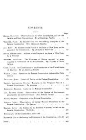 pamphlets on the constitution of the united states published  original table of contents or first page
